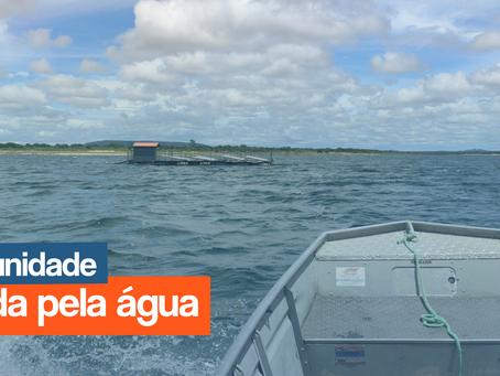 UMA COMUNIDADE REVITALIZADA PELA ÁGUA