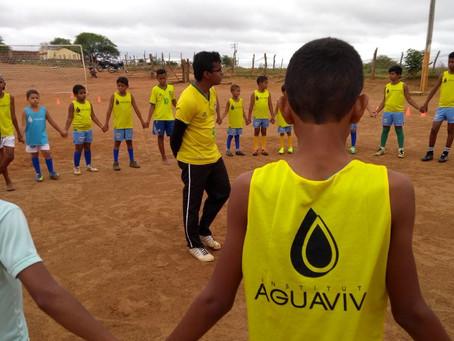 Escola de Esportes: uma seleção de jovens e crianças dispostos a aprender