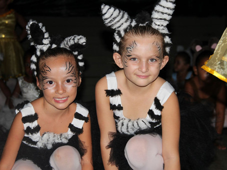 Balé do IAV: mais de 140 alunas participam de espetáculo em Acauã