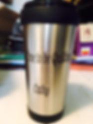 Customized travel mug