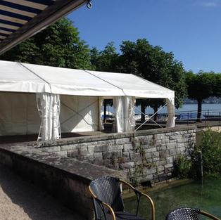 Festzelt am Zürichsee