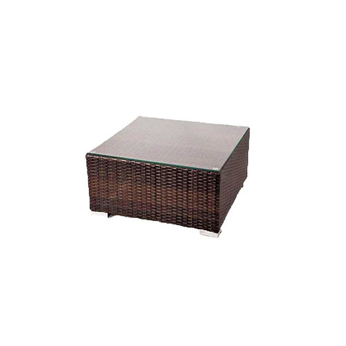 Rattan-Lounge Tisch