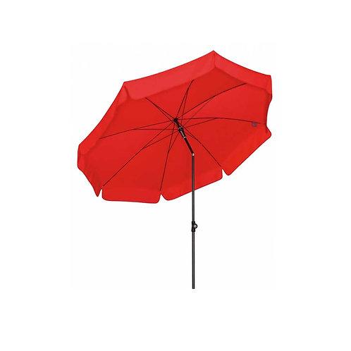 Sonnenschirm rot 150cm knickbar mieten