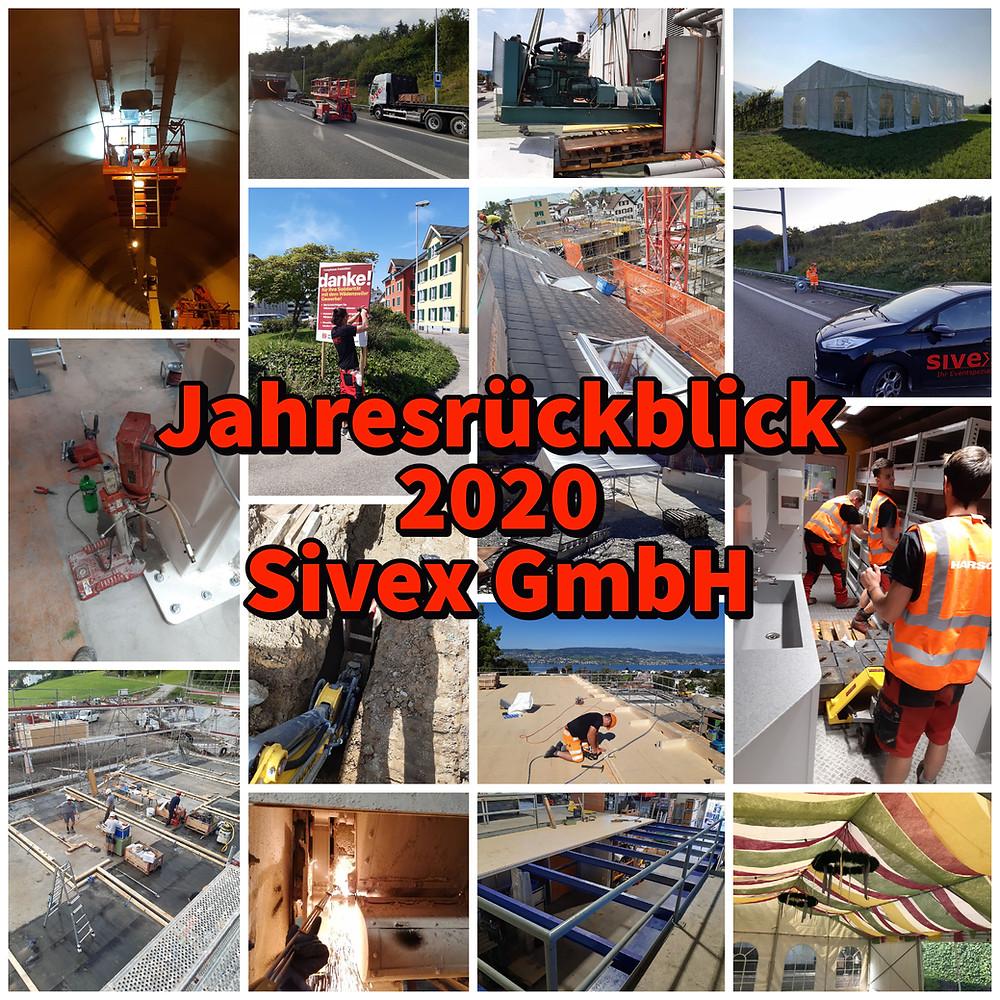 Das Jahr 2020 bei der Sivex GmbH