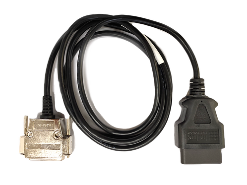 INF4102: 180 degree OBD TYPE-B Cable to Rebel Data Logger Adapter Cable