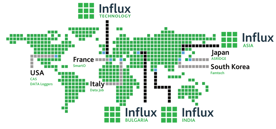 Influx World map with squares.png