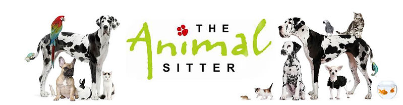 The animal sitter logo
