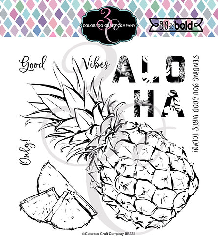 BB334 Big & Bold Aloha Pineapple