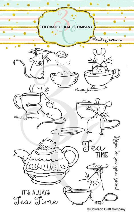 AJ434 Anita Jeram~Tea Time Fun