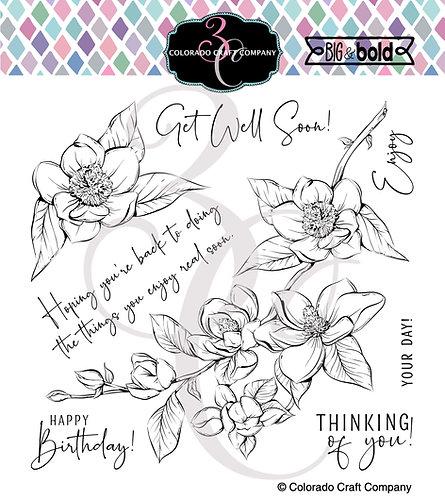 BB403~Thinking Of You Magnolias