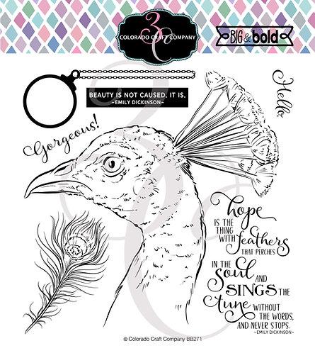BB271 Big & Bold~Hope Sings Peacock