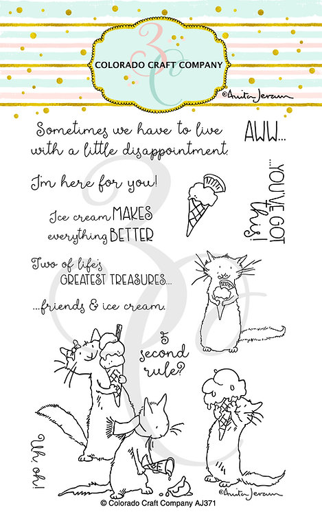 AJ371 Anita Jeram~Ice Cream Day