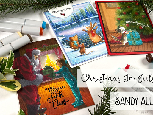 Christmas In July with Sandy Allnock