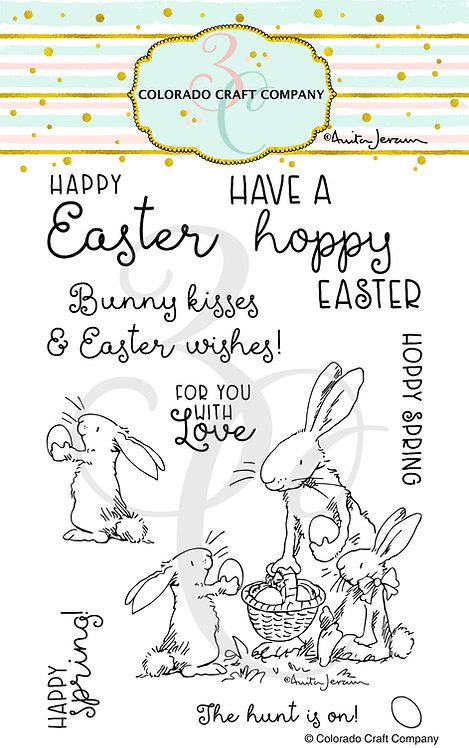 AJ428 Anita Jeram~Happy Easter