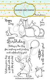 AJ373 Anita Jeram~Birthday Wishing