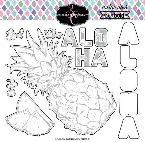 BB338-D Aloha Pineapple Dies