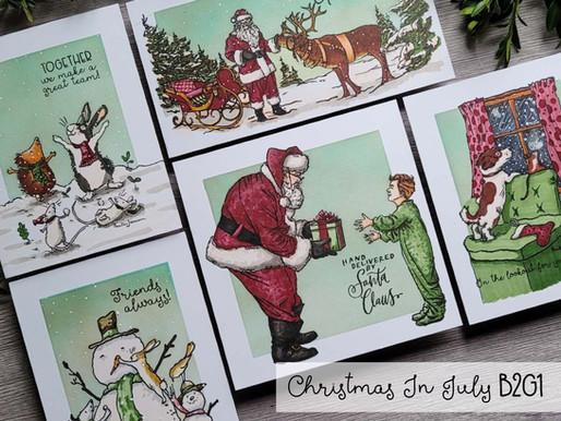 Christmas In July B2G1 Round 2~Daniel West