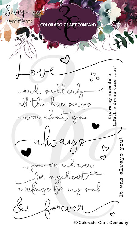 SS367 Savvy Sentiments~Always & Forever