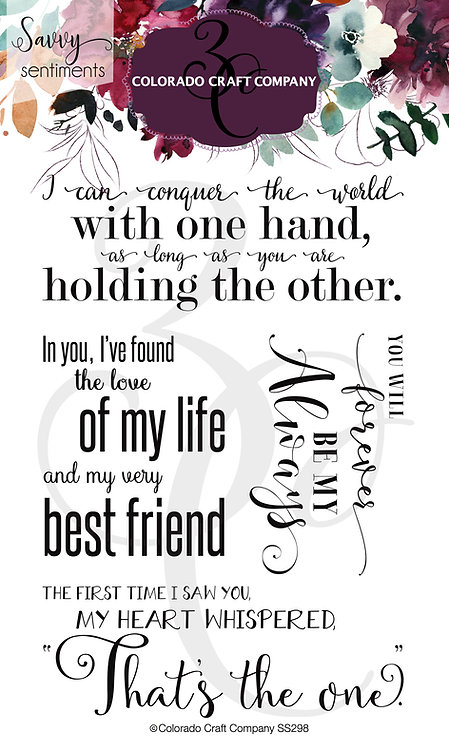 SS298 Savvy Sentiments~Large Love Quotes