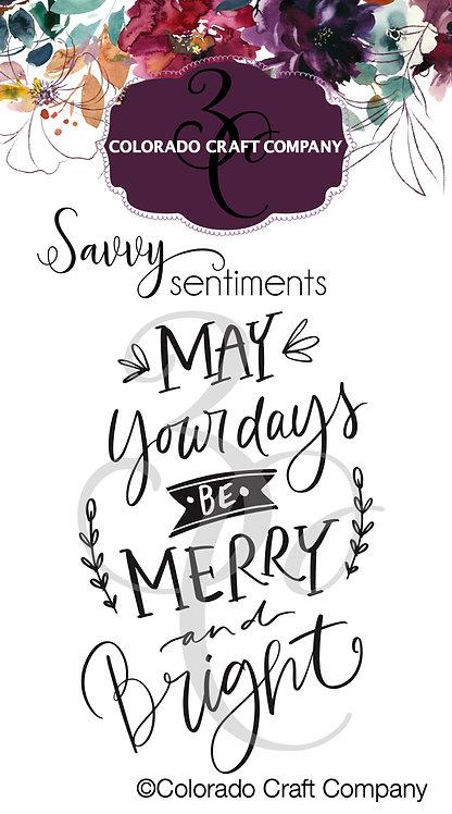 SS528 Savvy Sentiments ~ Merry & Bright Days Mini