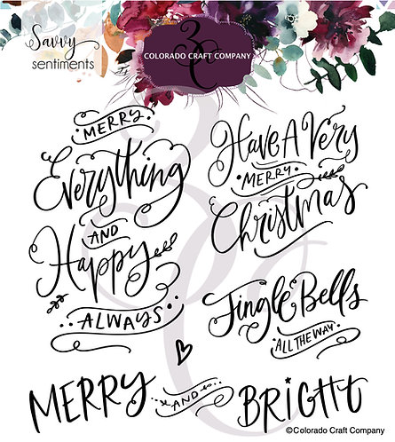 SS529 Savvy Sentiments ~ Merry Everything