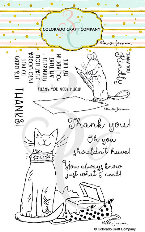 AJ430 Anita Jeram~Thank You Kindly