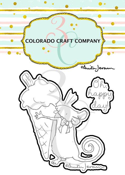 AJ382-D Anita Jeram~Ice Cream Mini Dies