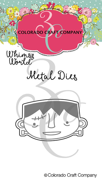 WW577-D Whimsy World ~ Frankly Mini Dies