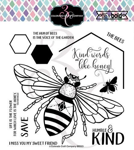 BB323 Big & Bold~Honey Bee