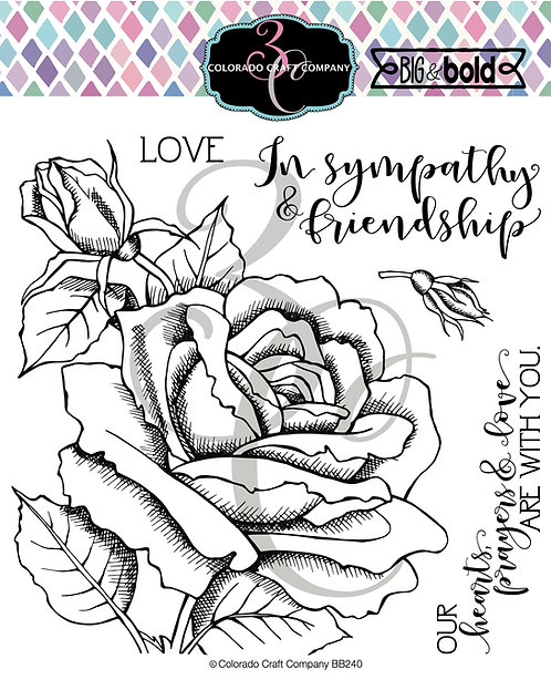 BB240 Big & Bold~Sympathy Rose