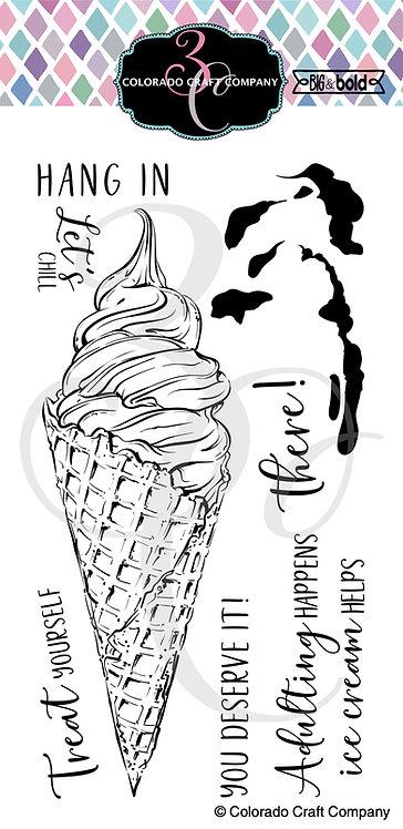 BB406 Bold & Bold~Slimline Ice Cream