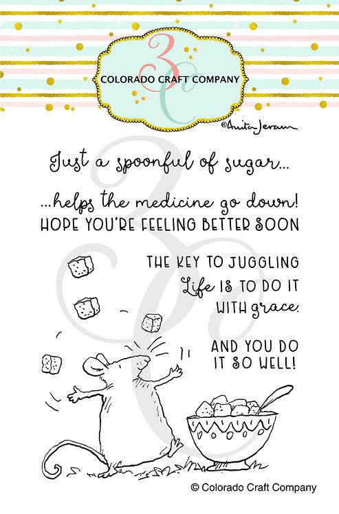 AJ499 Anita Jeram ~ Spoonful of Sugar