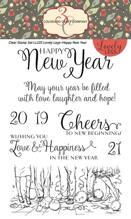 LL222 Lovely Legs~Happy New Year