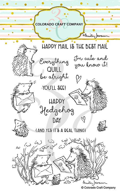 AJ489 Anita Jeram~Hedgehog Day