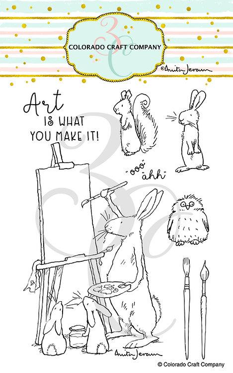 AJ503 Anita Jeram ~ Art Is