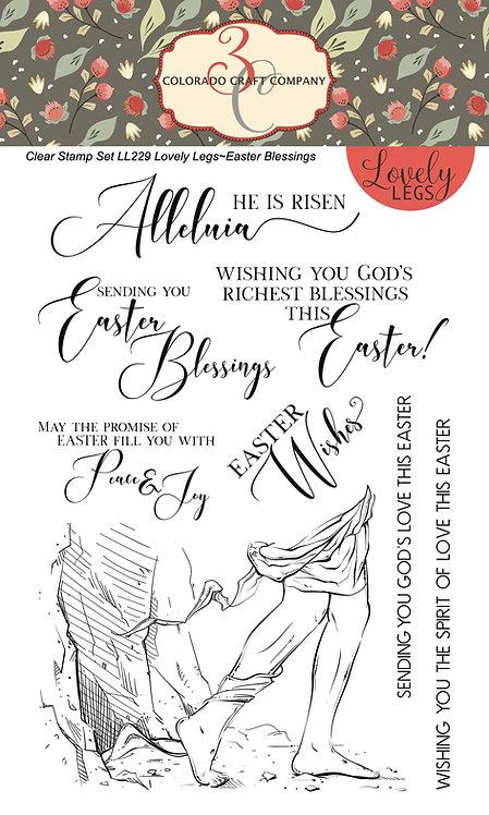 LL229 Lovely Legs~Easter Blessings