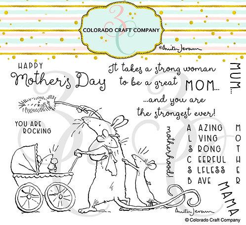 AJ470 Anita Jeram~Amazing Mom