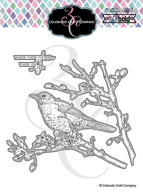 BB442-D Big & Bold~Dear Friend Robin Dies
