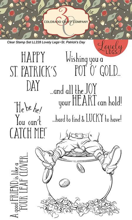 LL228 Lovely Legs~St. Patrick's Day