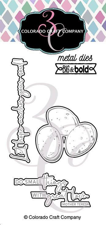 BB444-D Big & Bold~Robin's Nest Dies