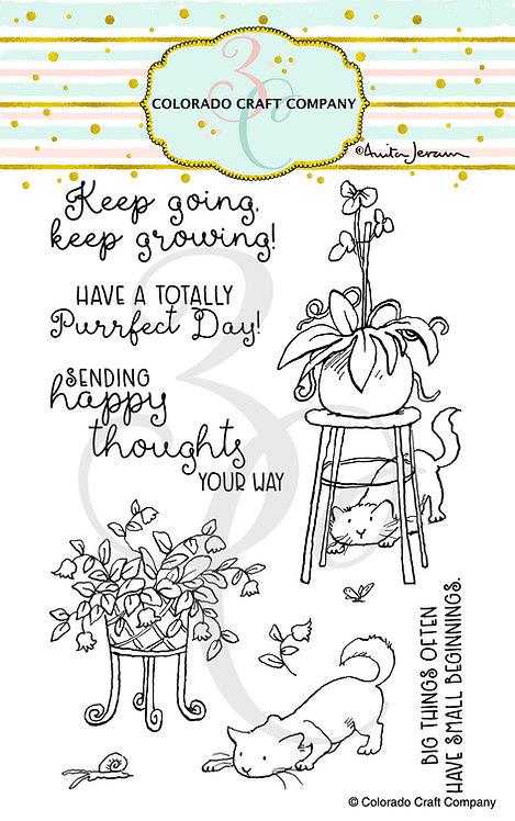 AJ545 Anita Jeram ~ Keep Growing