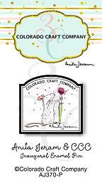 AJ370-P Anita Jeram~CCC AJ Enamel Pin