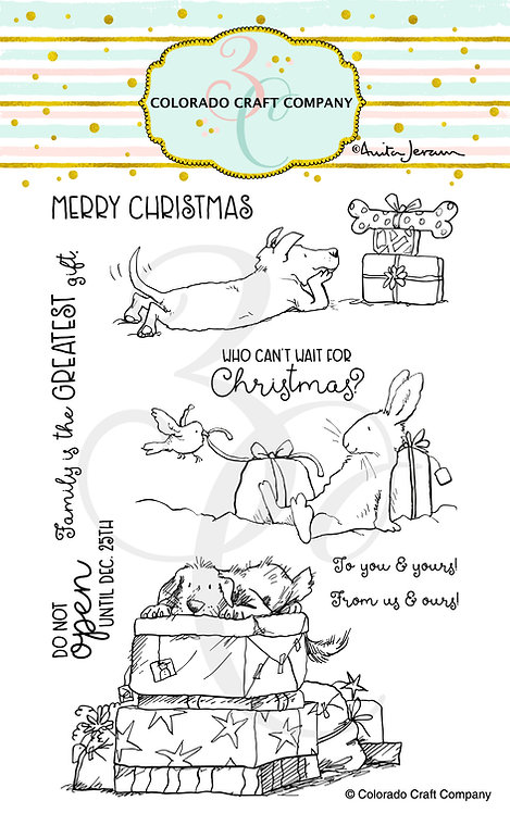 AJ392 Anita Jeram~Christmas Presents