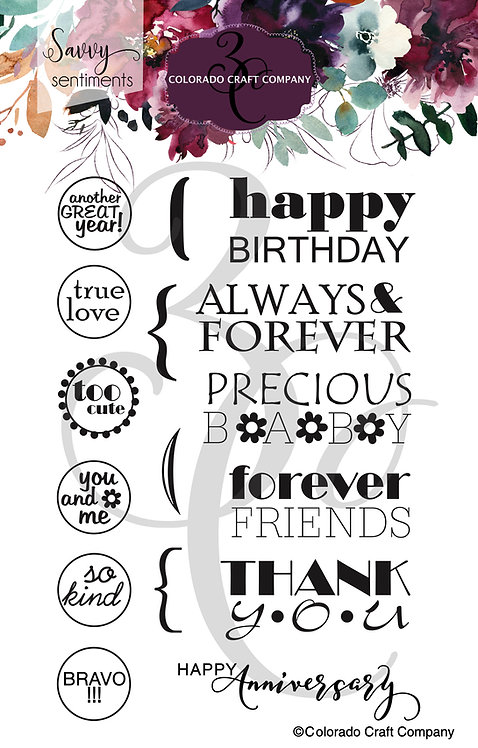 SS518 Savvy Sentiments ~ General Greetings