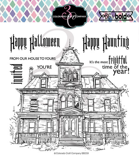 BB259 Big &Bold~Haunted House