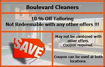 10 % Off Tailoring