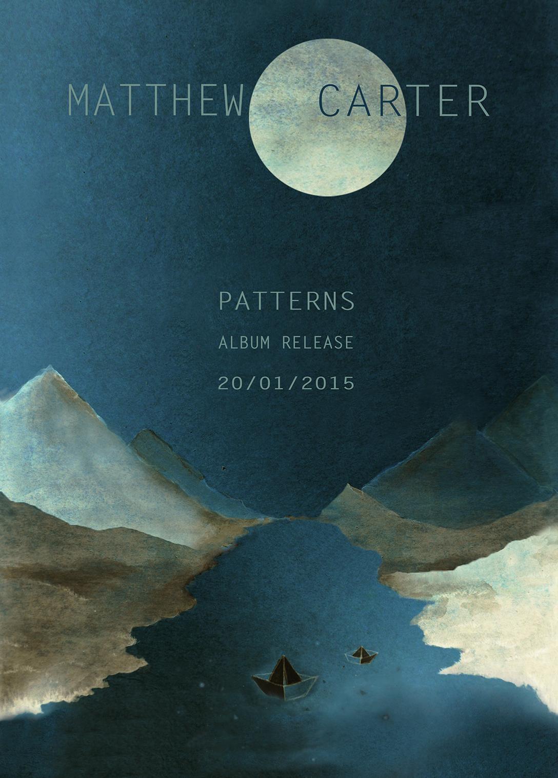 Matthew Carter . Release poster