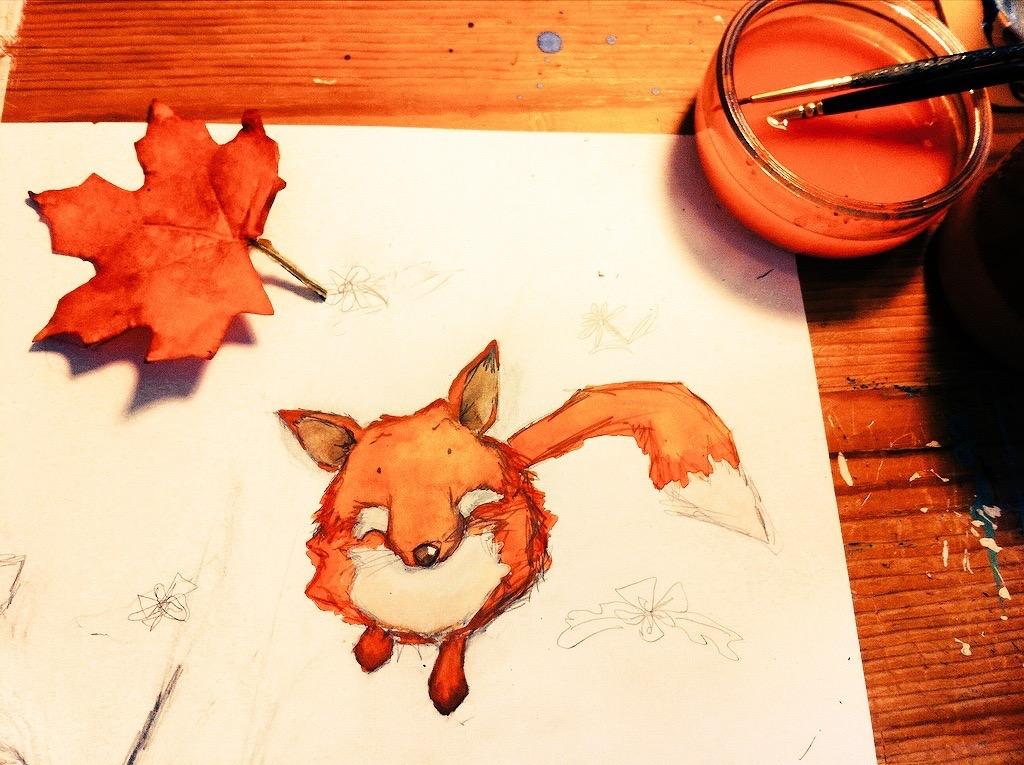 ...the unfazed fox.