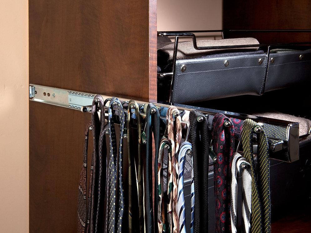 Premier Swivel Tie Rack 14 Quot Chrome Sidelines Inc