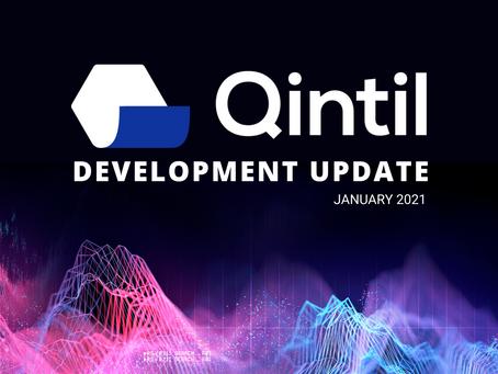 Qintil development update